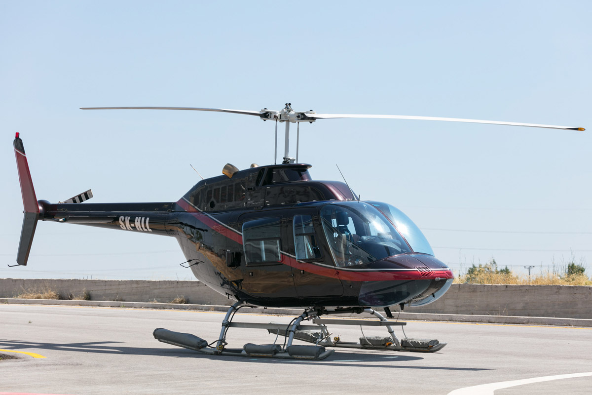 Bell 206B JetRanger III - Business Jet Charter - Rent a