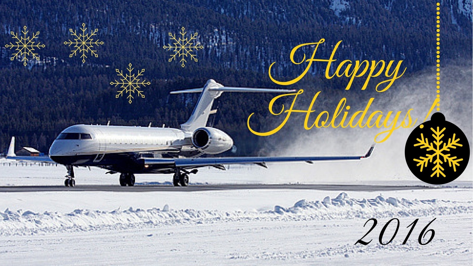 Seasons Greetings From Abi Business Jet Charter Rent A