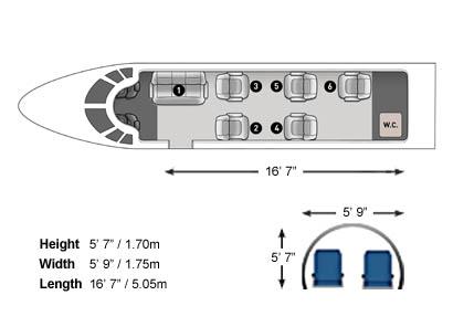 Learjet 55 3