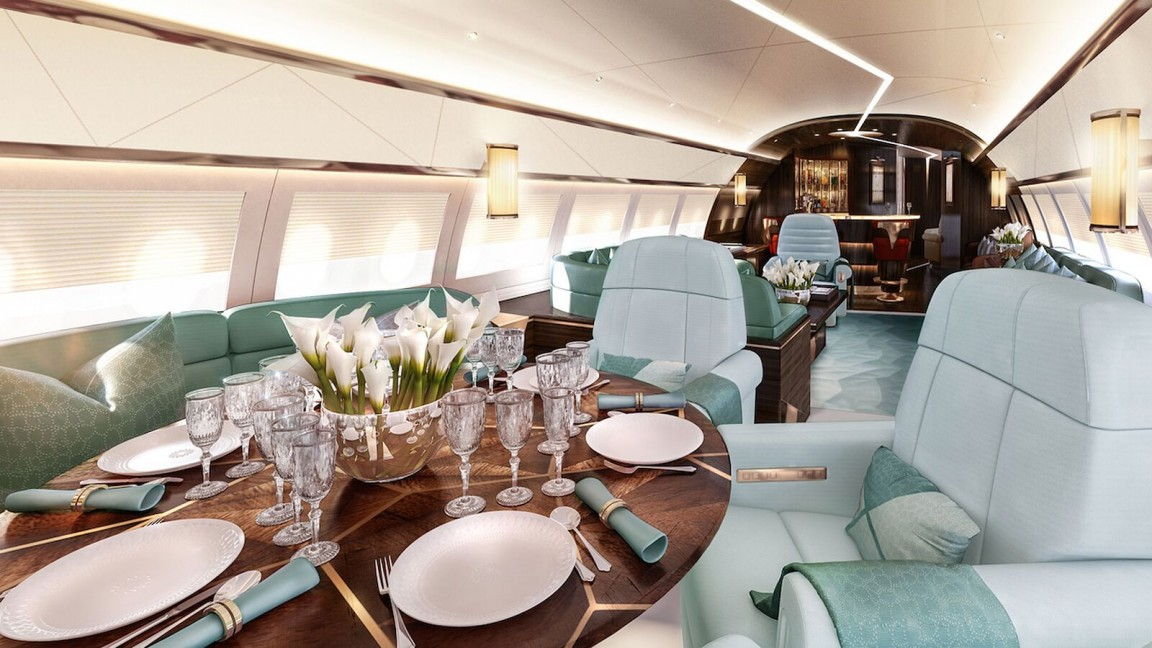 Image Gallery Luxury Private Jets Interior