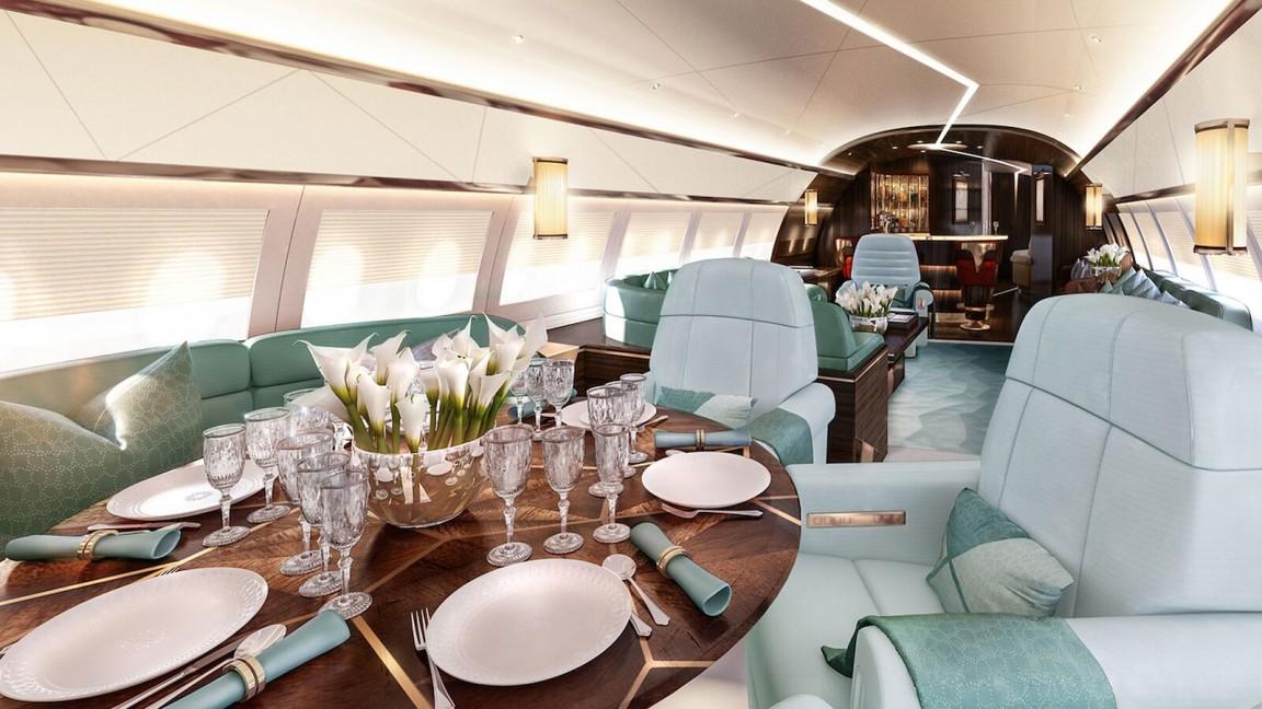 mayfair jet interior